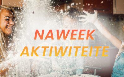 6 naweek aktiwiteite om te probeer hierdie naweek