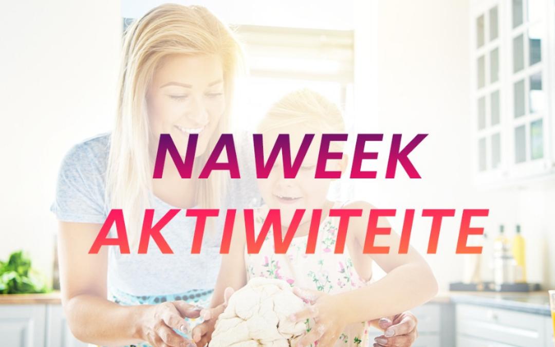 6 naweek aktiwiteite om te probeer hierdie naweek – Deel 2